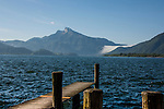 Austria Mondsee Lake district.