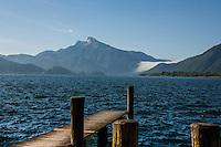 Austria Mondsee Lake district.