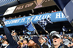 07 December 2013: Kansas City fans. MLS Cup 2013 was played between Sporting Kansas City and Real Salt Lake at Sporting Park in Kansas City, Kansas. Sporting Kansas City won the championship by winning the penalty kick shootout 7-6 after the game ended in a 1-1 tie.