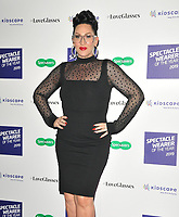 LONDON, ENGLAND - OCTOBER 08: Michelle Visage at the Specsavers' Spectacle Wearer of the Year Awards 2019, 8 Northumberland Avenue, Northumberland Avenue on Tuesday 08 October 2019 in London, England, UK. <br /> CAP/CAN<br /> ©CAN/Capital Pictures