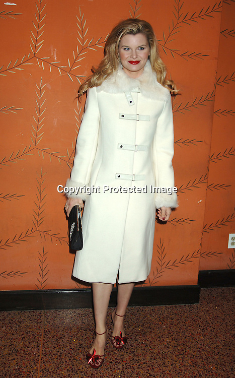 Heather Tom in Jill Stuart Dress and Mackage coat..at the One Life To Live Christmas Party at LQ on     December 12, 2005. ..Photo by Robin Platzer, Twin Images