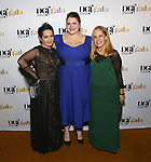 Jane Wiedlin, Bonnie Milligan and Charlotte Caffey attends 2017 Dramatists Guild Foundation Gala reception at Gotham Hall on November 6, 2017 in New York City.