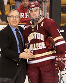 Steve Nazro, Ryan Fitzgerald (BC - 19) The University of Massachusetts-Lowell River Hawks defeated the Boston College Eagles 4-3 to win the 2017 Hockey East tournament at TD Garden on Saturday, March 18, 2017, in Boston, Massachusetts.