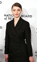 Thomasin Harcourt Mckensie attends the 2019 National Board Of Review Gala at Cipriani 42nd Street on January 08, 2019 in New York City. <br /> CAP/MPI/WMB<br /> ©WMB/MPI/Capital Pictures