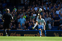Chelsea's Pedro attempts an overhead kick    <br /> <br /> <br /> Photographer Craig Mercer/CameraSport<br /> <br /> The Premier League - Chelsea v Everton - Sunday 27th August 2017 - Stamford Bridge - London<br /> <br /> World Copyright &copy; 2017 CameraSport. All rights reserved. 43 Linden Ave. Countesthorpe. Leicester. England. LE8 5PG - Tel: +44 (0) 116 277 4147 - admin@camerasport.com - www.camerasport.com