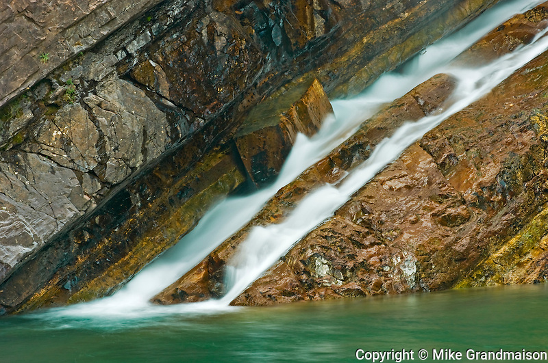 Cameron Falls<br /> Waterton Lakes National Park<br /> Alberta<br /> Canada