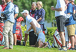 England's Mike Tindall with daughter Mia Tindall<br /> <br /> Celebrity Cup 2019 - Golf - Celtic Manor resort - Sunday 14th July 2019 - Newport<br /> <br /> © www.fotowales.com- PLEASE CREDIT IAN COOK