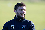 St Johnstone Training…28.12.18    McDiarmid Park<br />Tony Watt pictured during training this morning ahead of tomorrow's game at Dundee.<br />Picture by Graeme Hart.<br />Copyright Perthshire Picture Agency<br />Tel: 01738 623350  Mobile: 07990 594431