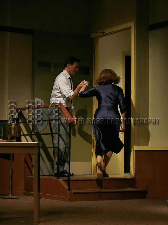 "***Exclusive Coverage***.Curtain Call for ""LOOPED"" starring Valerie Harper as Tallulah Bankhead at the Arena Stage - Ford Theatre  in Washington, D.C. June 12, 2009.pictured: Valerie Harper & Jay Goede."