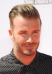 David Beckham arriving at the Nickelodeon's Kids Choice Sports Awards 2014 held at The UCLA Pauley Pavilion Los Angeles, CA. July 17, 2014.