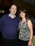 Shane Nolan and Siobhan Gohery pictured at the Combines for Charity party in City North hotel. Photo:Colin Bell/pressphotos.ie