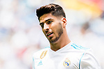 Marco Asensio of Real Madrid reacts during the La Liga match between Real Madrid and Levante UD at the Estadio Santiago Bernabeu on 09 September 2017 in Madrid, Spain. Photo by Diego Gonzalez / Power Sport Images