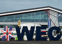 A general view during the WEC 4HRS of SILVERSTONE at Silverstone Circuit, Towcester, England on 30 August 2019. Photo by Vince  Mignott.