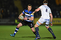Jack Wilson of Bath Rugby. Aviva Premiership match, between Worcester Warriors and Bath Rugby on January 5, 2018 at Sixways Stadium in Worcester, England. Photo by: Patrick Khachfe / Onside Images