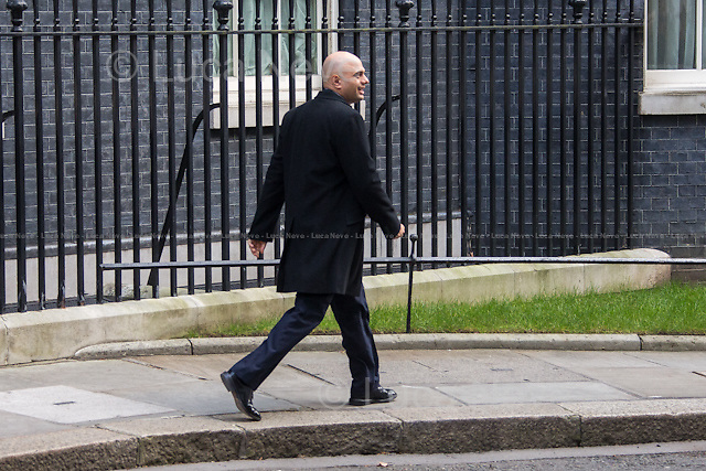 Sajid Javid MP (Secretary of State for Culture, Media and Sport).<br />