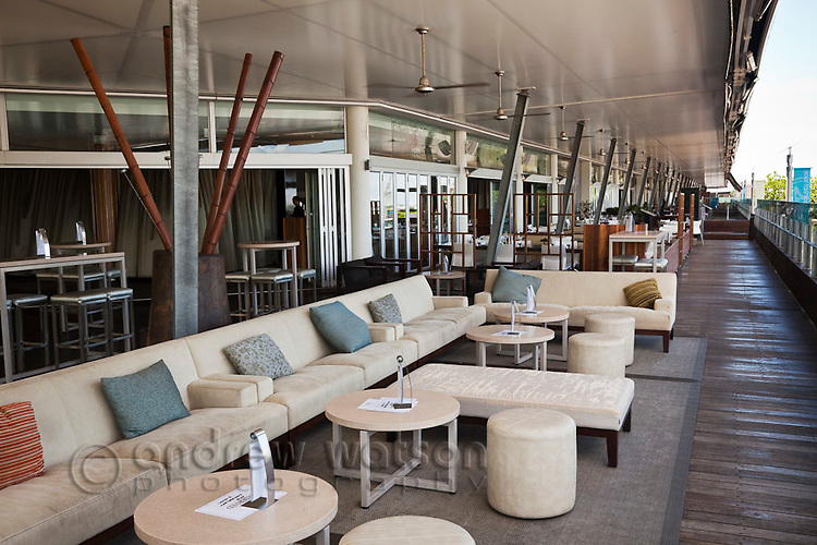 Ba8 Lounge Bar at Shangri-La Hotel.  The Pier, Cairns, Queensland, Australia