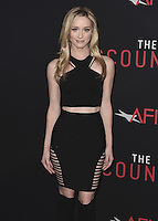 """HOLLYWOOD, CA - OCTOBER 10:  Greer Grammer at the Los Angeles world premiere of """"The Accountant"""" at TCL Chinese Theater on October 10, 2016 in Hollywood, California. Credit: mpi991/MediaPunch"""