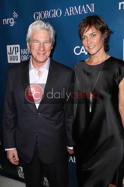 Richard Gere, Carey Lowell<br />