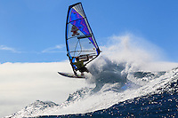 Kevin Pritchard at the 6th and final stop of the 2012 American Windsurfing Tour (AWT), in Ho'okipa Beach Park (Maui, Hawaii, USA)