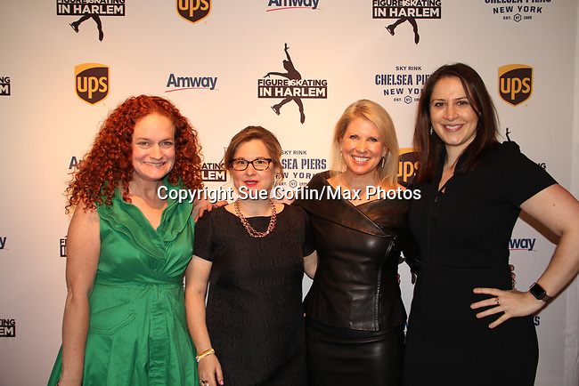 Joanne Pasternack - Sharon Cohen - Tina Lundgren _ Mary Anne Guediguian - Figure Skating in Harlem presents Champions in Life Benefit Gala on April 29, 2019 at Chelsea Pier, New York City, New York - (Photo by Sue Coflin/Max Photos)