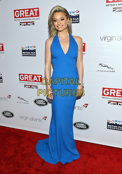 28 February 2014 - Los Angeles, California - Emma Rigby. GREAT British Film Reception to honor the British Oscar nominees, hosted by Consul General Chris O'Connor at the British Residence. <br /> CAP/ADM/CC<br /> &copy;CC/AdMedia/Capital Pictures