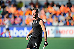 The Hague, Netherlands, June 01: Alex Shaw #19 of New Zealand looks on during the field hockey group match (Men - Group B) between the Black Sticks of New Zealand and Korea on June 1, 2014 during the World Cup 2014 at GreenFields Stadium in The Hague, Netherlands. Final score 2:1 (1:0) (Photo by Dirk Markgraf / www.265-images.com) *** Local caption ***
