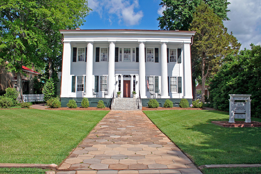 Historic Greek revival design home in Madison Georgia