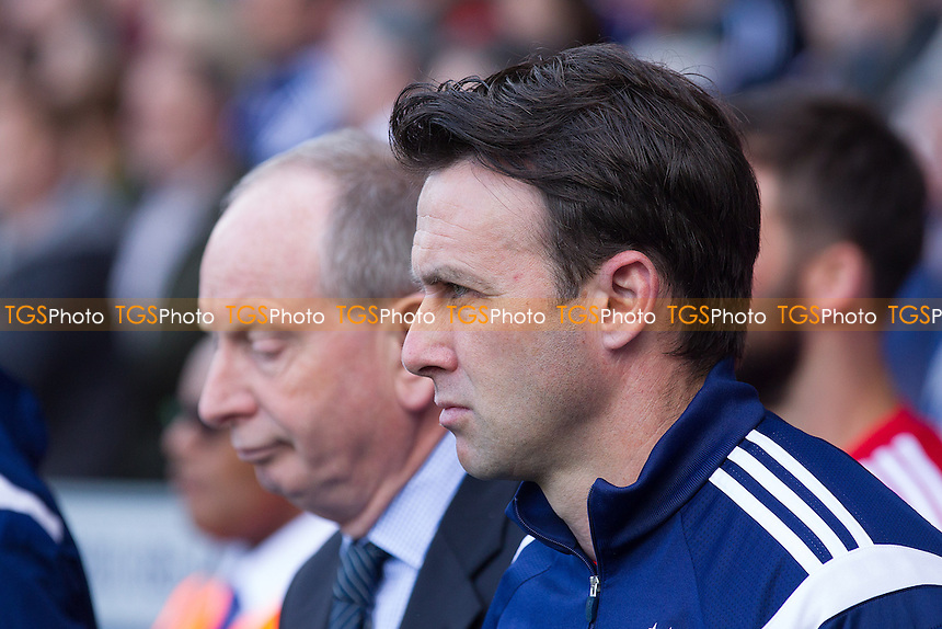 Dougie Freedman, Manager, Nottingham Forest - Ipswich Town vs Nottingham Forest - Sky Bet Championship Football at Portman Road, Ipswich, Suffolk - 25/04/15 - MANDATORY CREDIT: Ray Lawrence/TGSPHOTO - Self billing applies where appropriate - contact@tgsphoto.co.uk - NO UNPAID USE