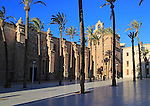 Sixteenth century Cathedral church in city of Almeria, Spain