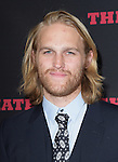 Wyatt Russell at The Weinstein L.A. Premiere of The Hateful Eight held at The Arclight Theatre in Hollywood, California on December 07,2015                                                                   Copyright 2015 Hollywood Press Agency