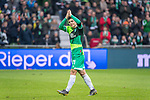 10.02.2019, Weser Stadion, Bremen, GER, 1.FBL, Werder Bremen vs FC Augsburg, <br /> <br /> DFL REGULATIONS PROHIBIT ANY USE OF PHOTOGRAPHS AS IMAGE SEQUENCES AND/OR QUASI-VIDEO.<br /> <br />  im Bild<br /> <br /> Milot Rashica (Werder Bremen #11)<br /> Verletzung / verletzt / Schmerzen<br /> Auswechslung<br /> <br /> Foto © nordphoto / Kokenge