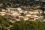 Aerial View of Silverton, Oregon
