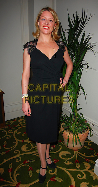 LAURIE BRETT.June Brown Tribute Luncheon, Grosvenor House, London, UK..October 15th, 2006.Ref: CAN.full length black dress hand on hip.www.capitalpictures.com.sales@capitalpictures.com.©Can Nguyen/Capital Pictures