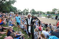 FIERLJEPPEN: IT HEIDENSKIP: Fierljepforiening It Heidenskip, 26-07-2014, NFM (Nationale Fierljep Manifestatie), ©foto Martin de Jong