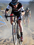 October 17, 2015 - Boulder, Colorado, U.S. - Austrailia's, Gary Millburn #17, works his way through a difficult sandy pitch during the U.S. Open of Cyclocross, Valmont Bike Park, Boulder, Colorado.