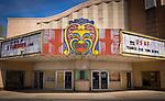 Old movie marquee Fairborn Theater, Fairborn Ohio