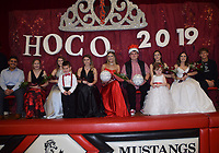 RICK PECK/SPECIAL TO MCDONALD COUNTY PRESS<br /> The McDonald County High School 2019 basketball homecoming court.