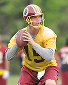 Ashburn, VA - May 2, 2009 -- Quarterback Todd Collins (15) participates in the 2009 Washington Redskins mini-camp at Redskins Park in Ashburn Virginia on Saturday, May 2, 2008..Credit: Ron Sachs / CNP