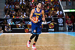 Spain's basketball player Ricky Rubio during the  match of the preparation for the Rio Olympic Game at Madrid Arena. July 23, 2016. (ALTERPHOTOS/BorjaB.Hojas)