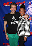 Perez Hilton & Maya Days attending the Opening Night Performance of Perez Hilton in 'NEWSical The Musical' at the Kirk Theatre  in New York City on September 17, 2012.
