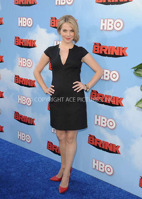 WWW.ACEPIXS.COM<br /> <br /> June 8 2015, Hollywood Ca<br /> <br /> Mary Faber arriving at HBO's Brink premiere on June 8, 2015 at the Paramount Theater in Hollywood Ca.<br /> <br /> Please byline: Peter West/ACE Pictures<br /> <br /> ACE Pictures, Inc.<br /> www.acepixs.com<br /> Email: info@acepixs.com<br /> Tel: 646 769 0430