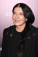 "NEW YORK, NY - FEBRUARY 04: Marina Abramovic at the New York Premiere Of Columbia Pictures' ""The Monuments Men"" held at Ziegfeld Theater on February 4, 2014 in New York City, New York. (Photo by Jeffery Duran/Celebrity Monitor)"