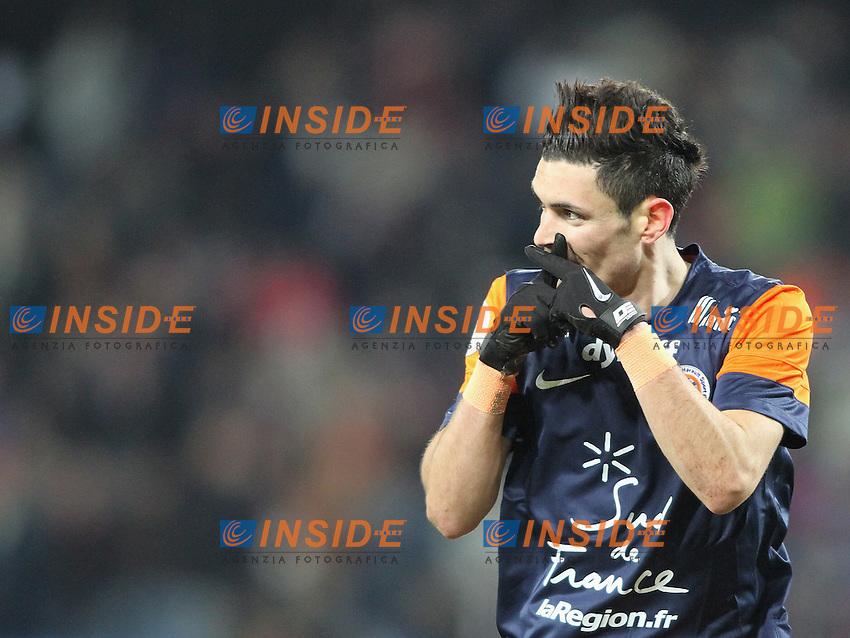 Remy Cabella .Football Calcio 2012/2013.Ligue 1 Francia.Foto Panoramic / Insidefoto .ITALY ONLY