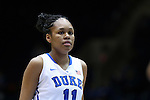08 January 2015: Duke's Azura Stevens. The Duke University Blue Devils hosted the Syracuse University Orange at Cameron Indoor Stadium in Durham, North Carolina in a 2014-15 NCAA Division I Women's Basketball game. Duke won the game 74-72.