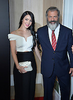 BEVERLY HILLS, CA. November 6, 2016: Actor/director Mel Gibson &amp; girlfriend Rosalind Ross at the 2016 Hollywood Film Awards at the Beverly Hilton Hotel.<br /> Picture: Paul Smith/Featureflash/SilverHub 0208 004 5359/ 07711 972644 Editors@silverhubmedia.com