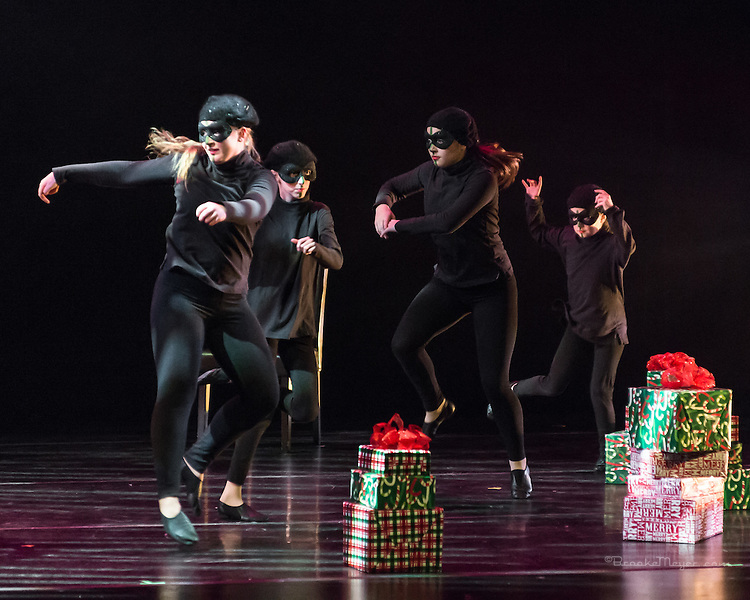 "3D Project Jazz Company, ""All Wrapped Up"", Friday Evening, 14 Dec. 2012, Cary Arts Center, Cary, North Carolina."