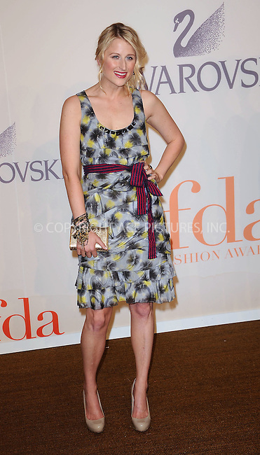 WWW.ACEPIXS.COM . . . . . ....June 15 2009, New York City......Actress Grace Gummer at the 2009 CFDA Fashion Awards at Alice Tully Hall, Lincoln Center on June 15, 2009 in New York City.....Please byline: KRISTIN CALLAHAN - ACEPIXS.COM.. . . . . . ..Ace Pictures, Inc:  ..tel: (212) 243 8787 or (646) 769 0430..e-mail: info@acepixs.com..web: http://www.acepixs.com