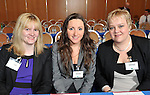 IHF-REPRO FREE IHF Conference Killarney: .Marie Moriarty, Sheila Sheahan and Yolande Niemen from Gulliver Travel pictured at the IHF 75th anniversary conference in The Malton Hotel, Killarney on Tuesday..Picture by Don MacMonagle