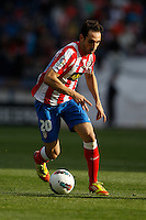 02.05.2012 SPAIN -  La Liga matchday 20th  match played between Atletico de Madrid vs Real Sociedadl (1-1) at Vicente Calderon stadium. The picture show Juan Francisco Torres (Spanish midfielder of At. Madrid)