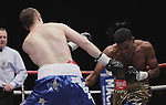 Belfas Reino Unido Breidis Prescott vs Paul McCloskey..  Paul gano por desicion una pelea de eliminatoria de la AMB
